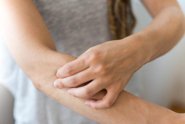 Massiere deinen äußeren Unterarmmuskel